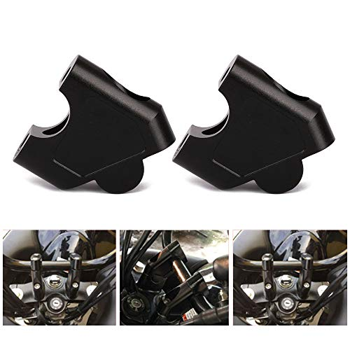 JFG Racing Motorrad-Lenkererhöhung für 2,2 cm Lenker - erhöht 35 mm - für Suzuki GSF 1250S 07-16, SV650 16-18, SV1000 03-07, DL250/V-STROM 250 17-18, GW250 S/F 13-17