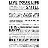 Buyartforless Live Your Life Motivational Poster 24x36