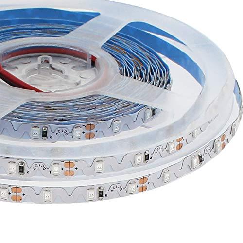 Tira contorno Zig Zag LED SMD2835, DC12V, 5m, (72Led/m) - IP65, Blanco cálido