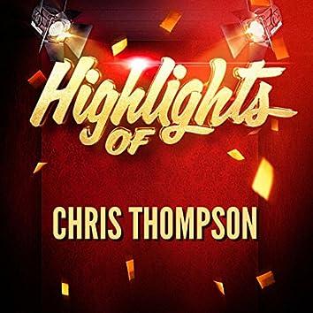 Highlights of Chris Thompson
