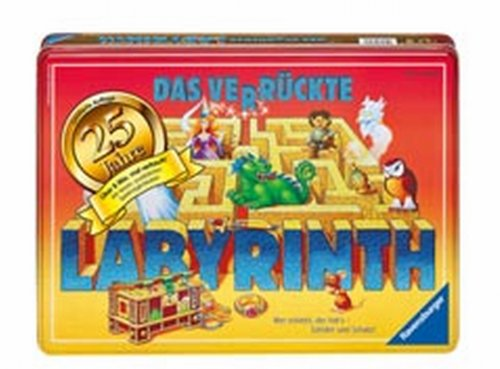 Ravensburger 26534 - Das verrückte Labyrinth - Jubiläumsedition in Metallbox