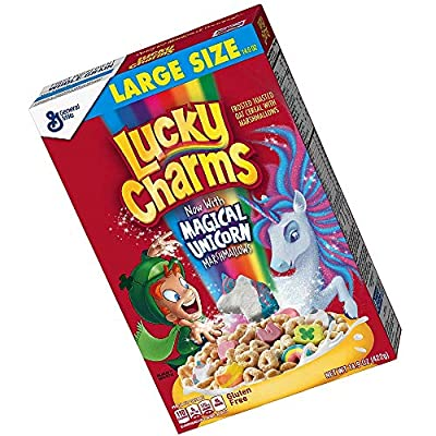 Lucky Charms Gluten Free, Breakfast Cereal