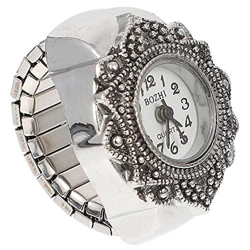 Balacoo Donne di Barretta Watch- Quarzo Anello di Barretta Orologi Orologio Rrings per Le Donne Degli Uomini
