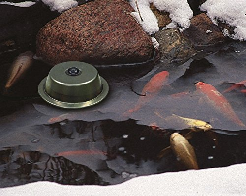 Aquascape 39000 Pond Heater and De-icer for Pond Water Feature Gardens, 300 Watt