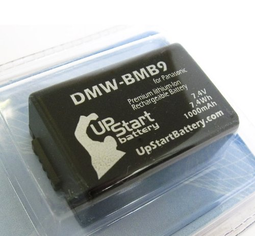 Replacement for Panasonic DMW-BMB9 Digital Camera Battery Replacement (1000mAh 7.4V Lithium-Ion) - Compatible with Panasonic Lumix DMC-FZ70 Battery
