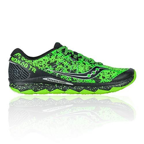 Saucony Chaussures de course Nomad TR Trail - Vert - Vert, 41 EU