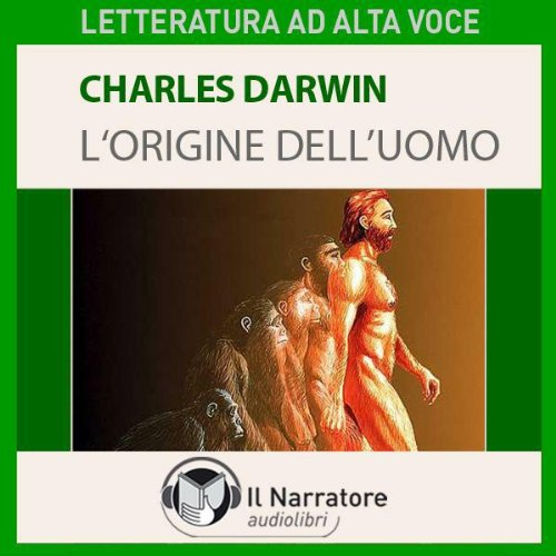 L'origine dell'uomo cover art