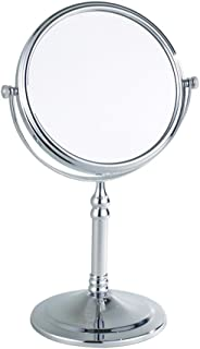 JJJJD 3X Magnifying Makeup Mirror, Bathroom Mirrors - 360 Degree Free Standing Dual Sided Vanity Mirror for Makeup Shaving...