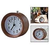 Gearmax® Despertador con función de repetición de Alarma y luz Nocturna de Fondo Digital Escritorio Reloj, Pequeño Escritorio Reloj Despertador