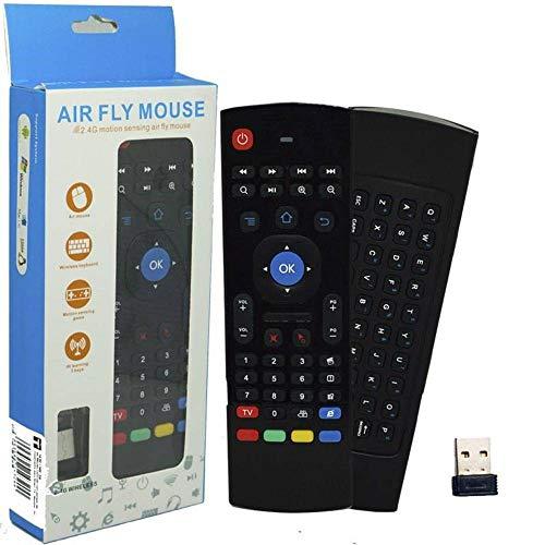 Air Mouse Para 2.4g Teclado Sem Fio Remoto Smartv