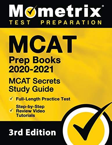 MCAT Prep Books 2020-2021: MCAT Secrets Study Guide, Full-Length Practice...