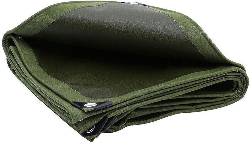 DLewiee Bache imperméable de bache de Tente de Tente de Terre de bache Beaucoup de Tailles Disponibles pour l'activité extérieure