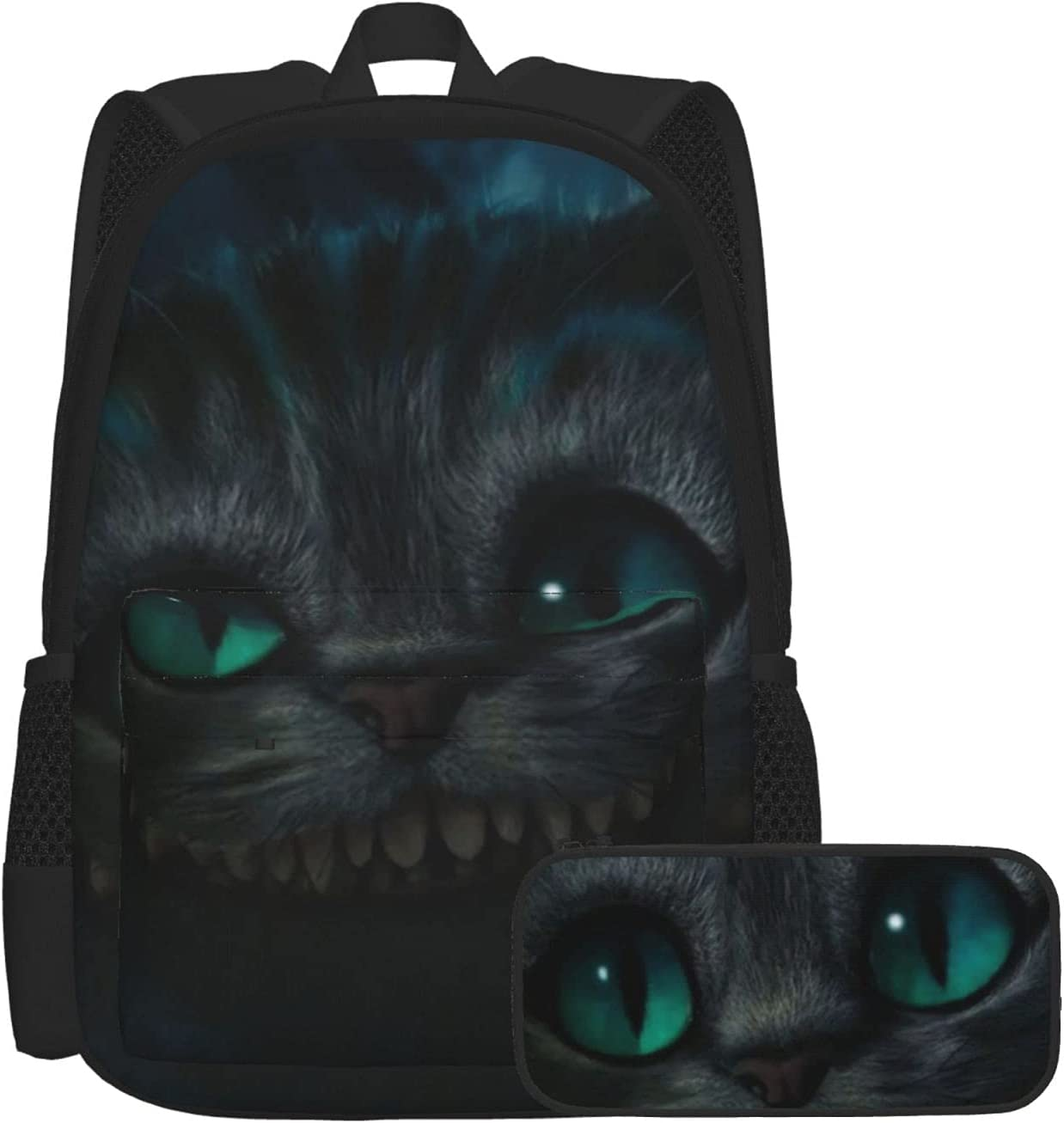 Big Face Cheshire Cat Two-Piece Set School 5% OFF With Casual P Bookbag Max 70% OFF