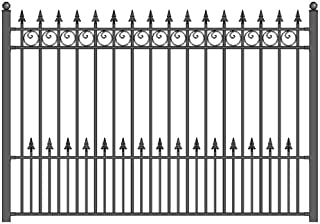 galvanised fence panel security bracket