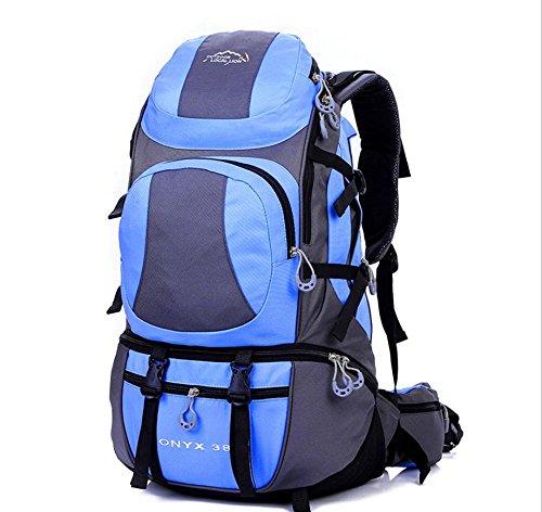 Voyage sacs à dos sac à dos de sports de plein air 38 L randonnée , snow blue