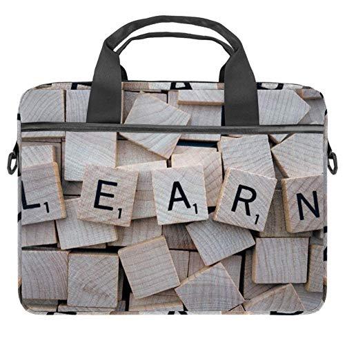 TIZORAX Laptoptasche, Briefblöcke, Notebooktasche mit Griff, 38,1 - 39,1 cm, Tragetasche, Schultertasche