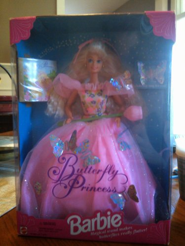 Barbie Doll Year 1994 Collectibles - Butterfly Princess