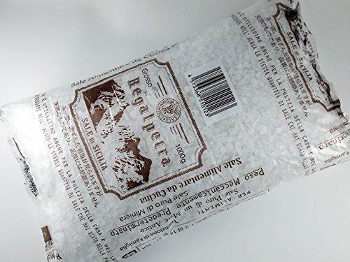 Regalpetra Grosso イタリア シチリア島産岩塩(粗粒状)1kg シチリア島の天然の岩塩鉱から採掘された塩【直輸入】業務仕様 ロックソルト
