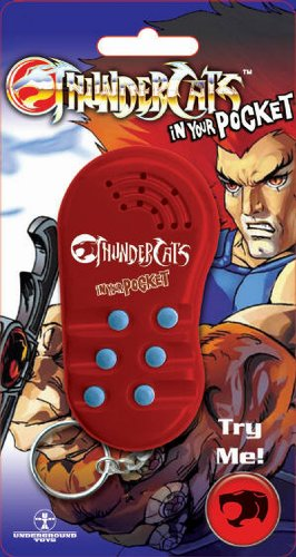 Thundercats in your Pocket Voice Keyring
