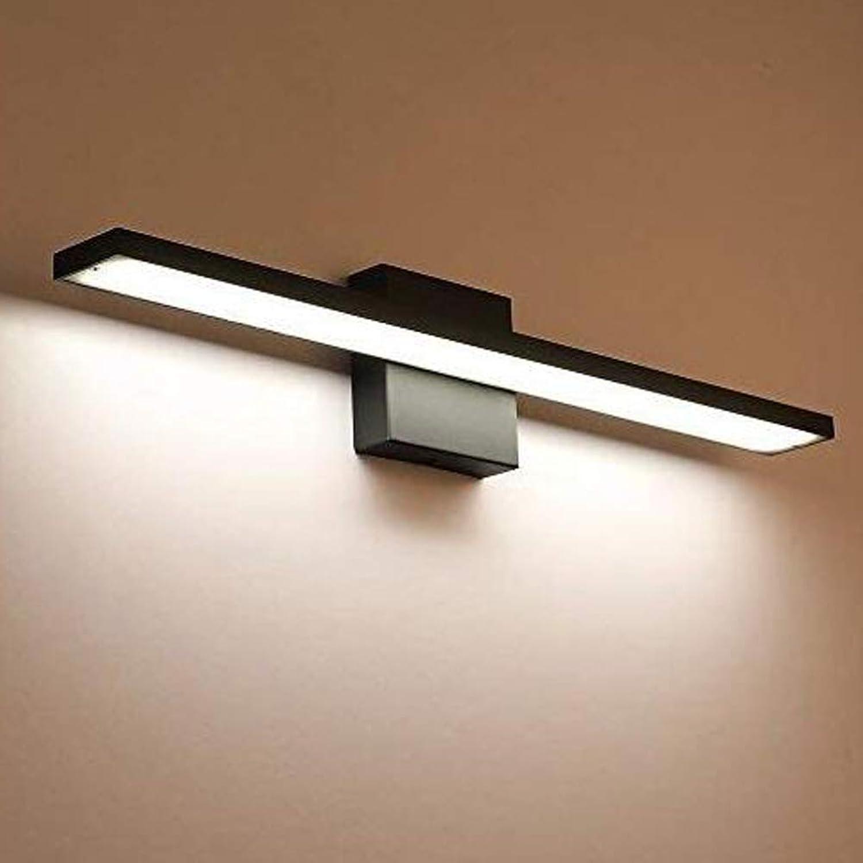 FXMJ Nordischen Stil Einfachheit LED Spiegelleuchte Badleuchte, Feuchtigkeitsfest Anti Nebel Schminklicht Eisen Und Aluminium Beleuchtung Badlampe,9W