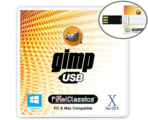 GIMP Photo Editor 2021 USB Premium Professional Image Editing Software...