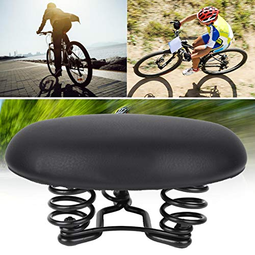 Germerse Sillín de Bicicleta, Ultrasoft Fácil instalación Sillín de Scooter de Equilibrio sin Nariz Asiento de Bicicleta, Cómodo Ciclismo de absorción de Impactos para Montar