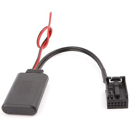 Liuxia Kfz Bluetooth Modul Aux Empfänger Kabel Adapter Elektronik