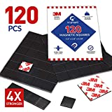 Best Magnetic Tapes - Magnetic Squares, 120 Pieces Magnet Squares Review