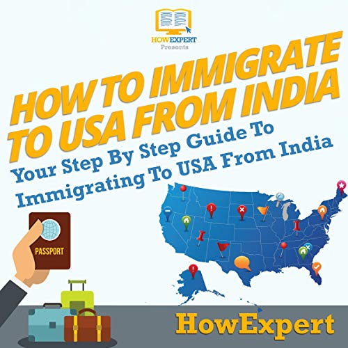 How to Immigrate to USA from India audiobook cover art