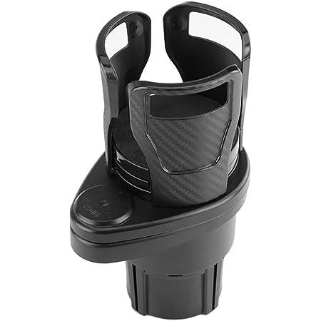 2-in-1 Multifunctional Vehicle-mounted Cup Holder Beverage Holder Carbon Fiber