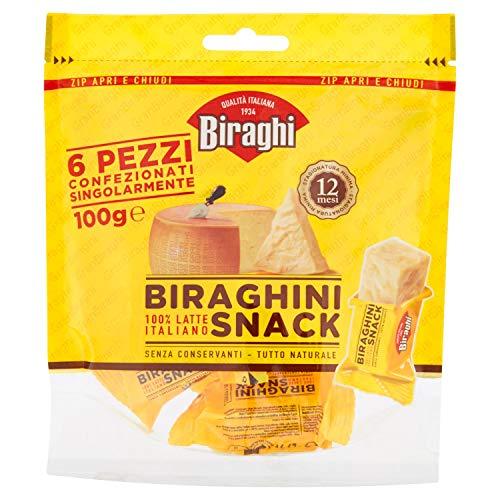 Biraghi Biraghini Snack, 6 x 16.67g
