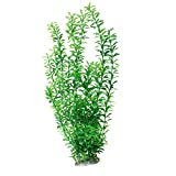 sourcingmap® Aquarium Plastik Gras Pflanze Dekoration 47cm - Hoch Grün