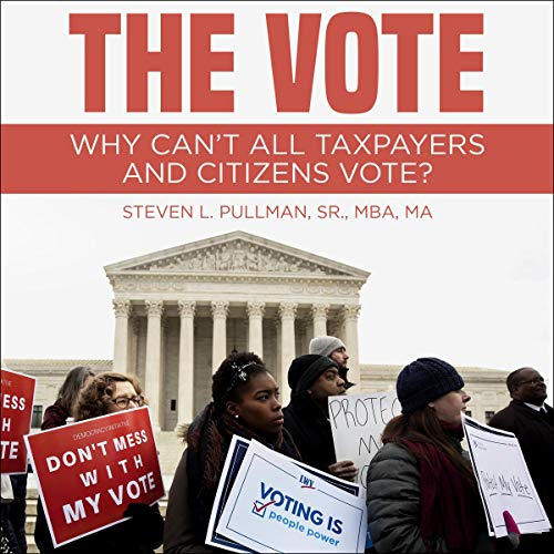 The Vote audiobook cover art