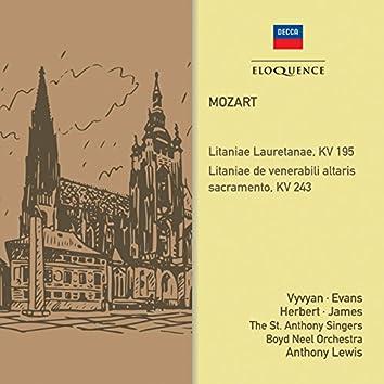 Mozart: Litanies, KV 195 & 243