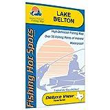 Belton Fishing Map, Lake