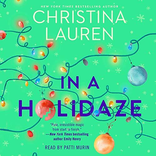 In a holidaze Christina Lauren. cover
