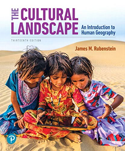 The Cultural Landscape: An Introduction to Human Geography Plus Mastering Geography with Pearson eText -- Access Card Pa