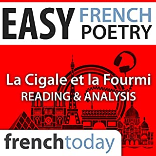 La Cigale et la Fourmi (Easy French Poetry) audiobook cover art