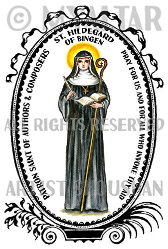 St Hildegard of Bingen for Authors & Composers 4