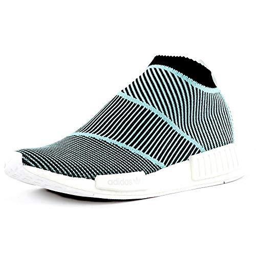 adidas NMD_CS1 Parley PK, Scarpe, Sneaker Unisex (Black/Sky, Fraction_40_And_2_Thirds)