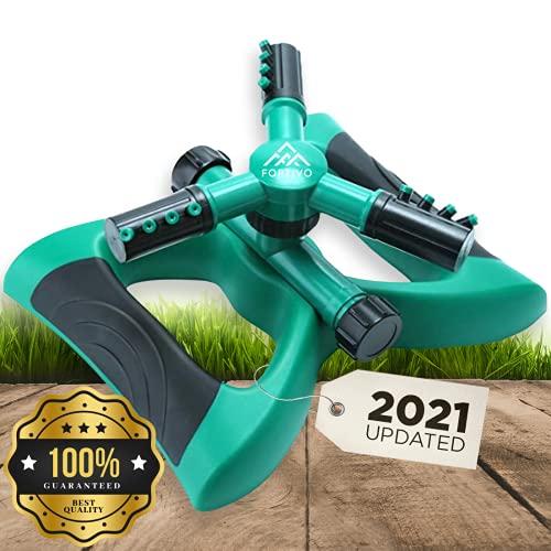 Lawn Sprinkler Garden Sprinkler - 2021 Updated, Automatic...