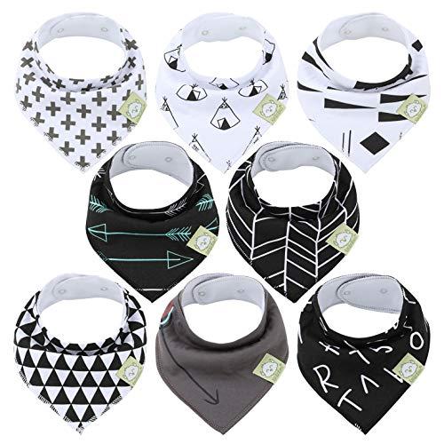 Bavoirs bandanas pour bébés-Bavoirs bandanas KeaBabies pour garçons et filles - Bavoirs bandanas ultra absorbants- Bavoirs pour bébé qui fait ses dents (Baby Boss)