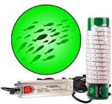 Green Blob Outdoors Underwater Fishing Light, Dock Pro Model Series 75DX, 110 Volt AC, with 3 Prong...