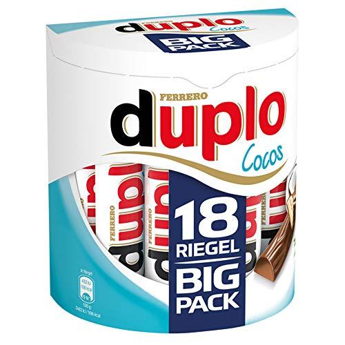 Ferrero duplo Vollmilch Cocos Limited Edition (18 Riegel je 18,2g)