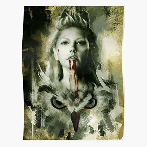 Zaldini Series Show Ragnar Tv Friends Lagertha Vikings Rollo Das eindrucksvollste und stilvollste Poster für Innendekoration, das derzeit erhältlich ist