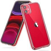 UNBREAKcable Coque de Protection iPhone 11 (6.1'') - Transparent [Anti-jaunissement & Anti-Rayures] Coque iPhone 11 Antichoc, Contour de Protection TPU Durable + Dos Rigide Transparent - HD Clair
