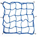 Overmont 15″15″Motorcycle Small Cargo Net...