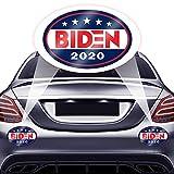 FSFLAG Biden 2020 ステッカー - 2ピース Joe Bidenステッカーとデカール - 2020大統領のバイデン - Joe Bidenステッカーとデカール 車 トラック ノートパソコン メンタルオブジェクト用