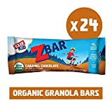 Clif Kid Z bar, Caramel Chocolate, 24Count