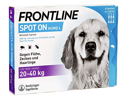 FRONTLINE Spot on H 40 Lösung f.Hunde 6 St